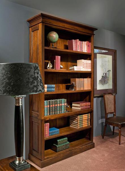 Engelse mahonie boekenkast James - Mr. Higgins