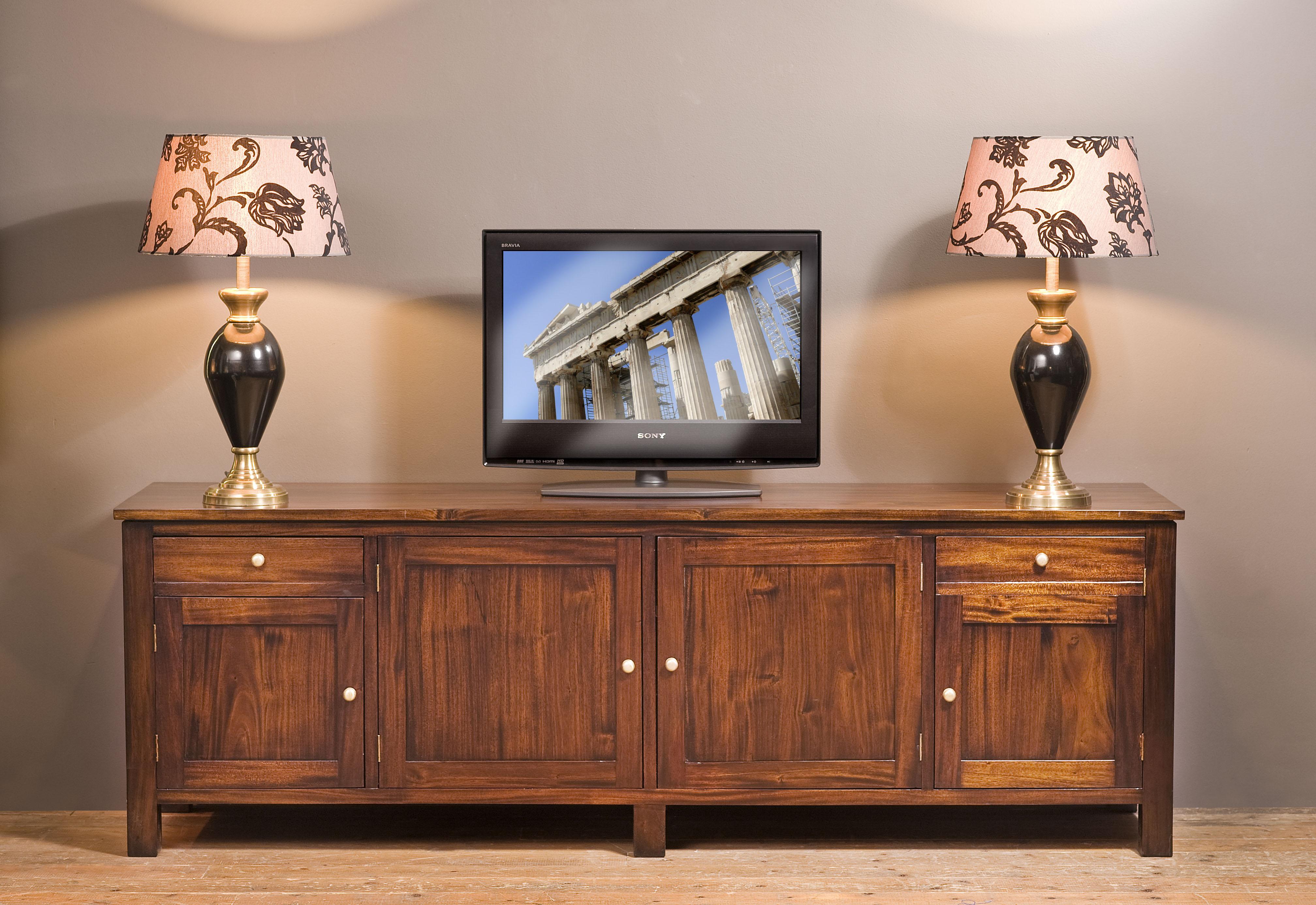 Mahonie Tv Meubel : Mahonie tv meubel straight mr. higgins