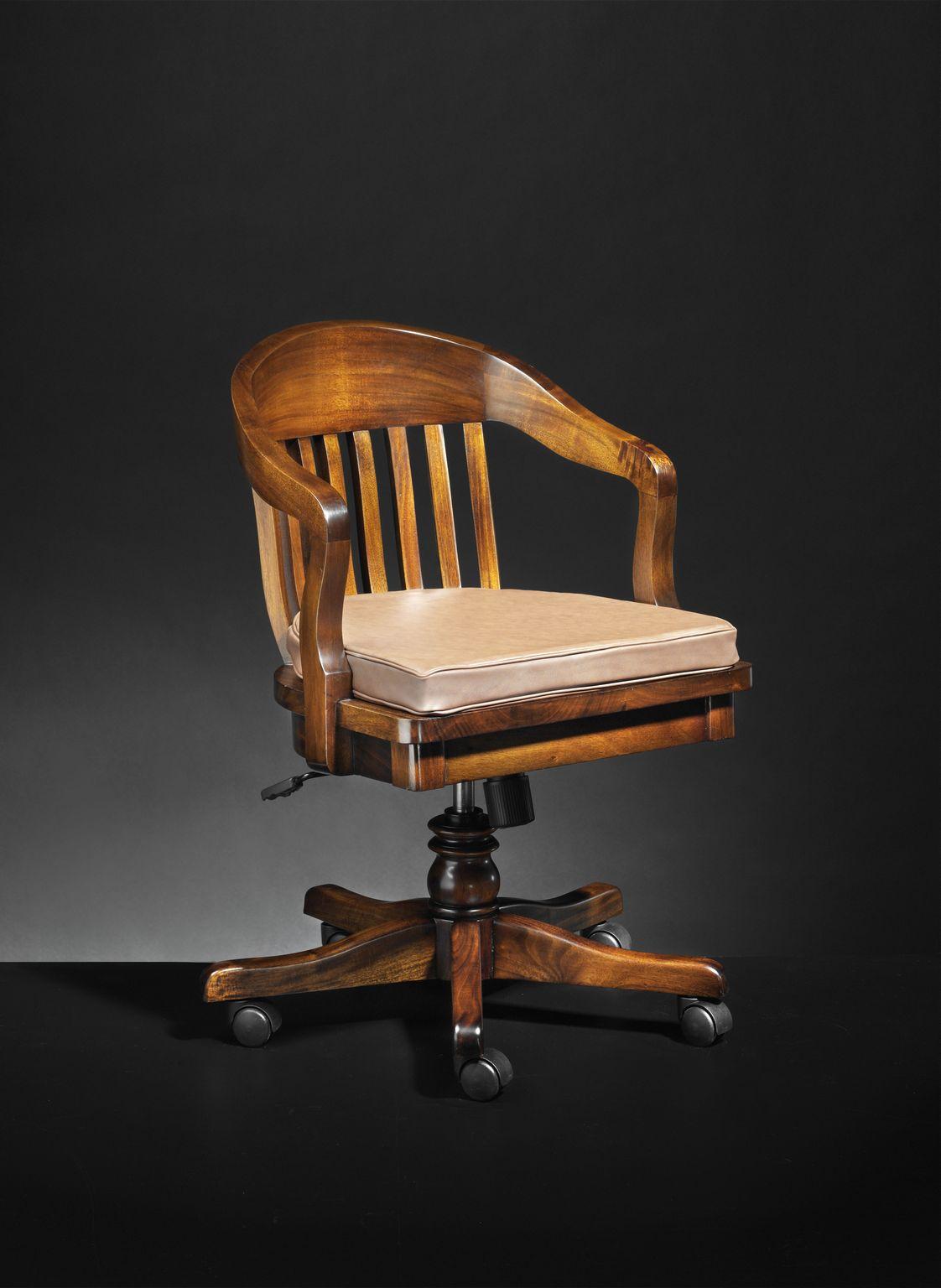 Klassieke bureaustoel Round   Mr  Higgins