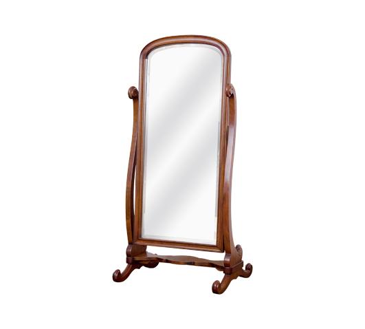 Staande passpiegel finest brush staande with staande for Staande spiegel hout