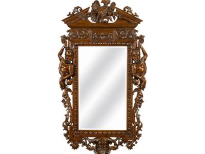 Klassieke spiegel Ivory
