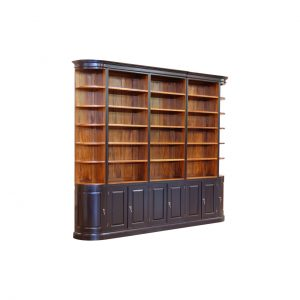 Klassieke Mahonie bibliotheekkast High op maat