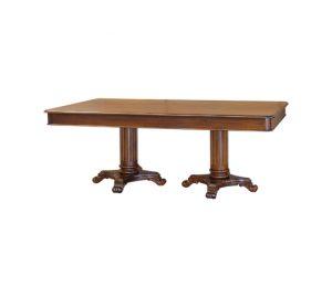 Klassieke mahonie tafel column