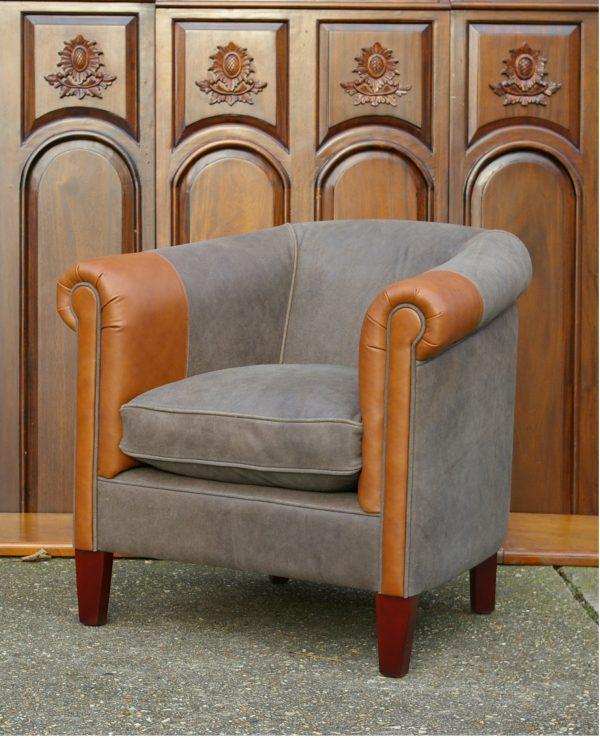 Landelijke fauteuil Rowley